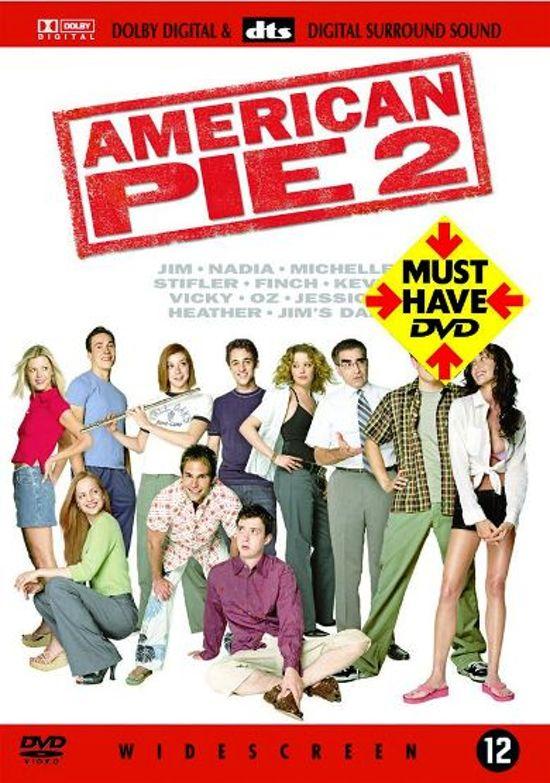 DVD cover van American Pie 2