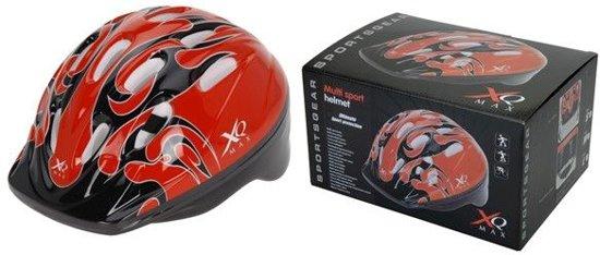 XQ Jongens fietshelm - Rood - Maat L