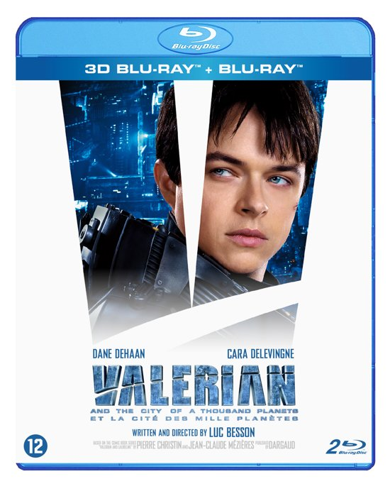 Valerian And The City Of A Thousand Planets (3D-Blu-ray) (Steelbook)