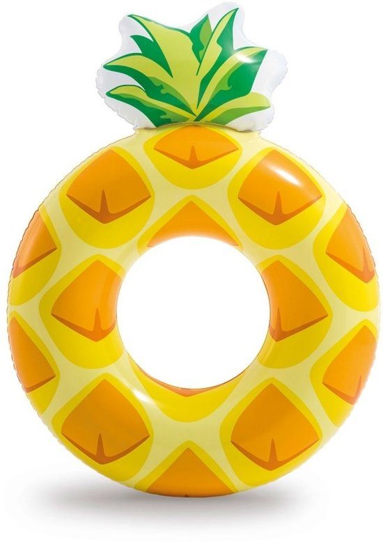 Intex Opblaasbare Ananas Ring - 117x86 Cm