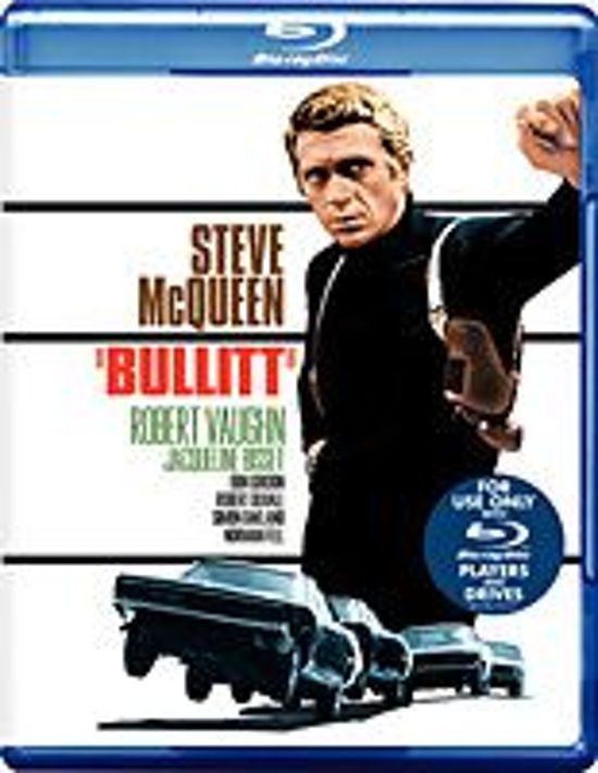 Cover van de film 'Bullitt'