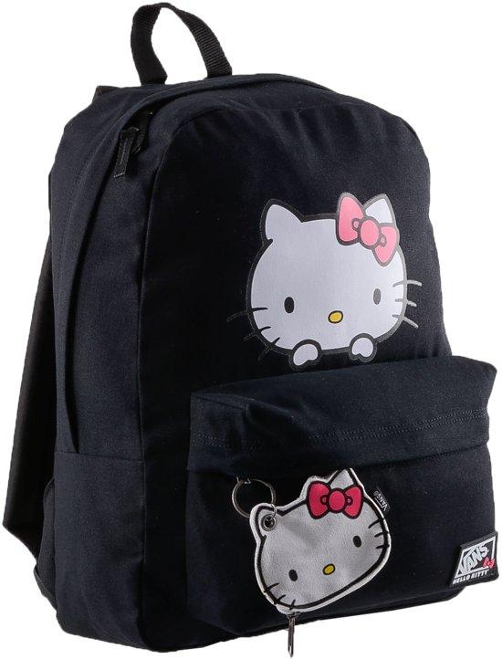 f65cfe0ee0b bol.com | Vans Peeking Hello Kitty - Rugzak - Zwart