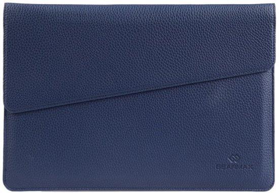 tui En Cuir Bleu Pour Macbook 12 Pouces wKADn