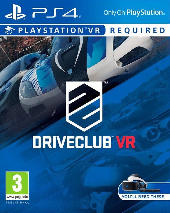 Driveclub - VR - PS4