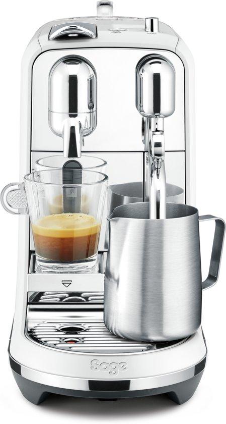 Nespresso Sage Creatista Plus SNE800SST2EBL1 - Koffiecupmachine - Wit