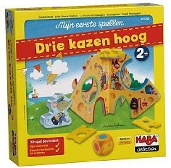 Afbeelding van het spel !!! Haba Selection - Spel - Mijn Eerste Spellen - Drie Kazen Hoog (Nederlands) = Duits 7620 - Frans 301287