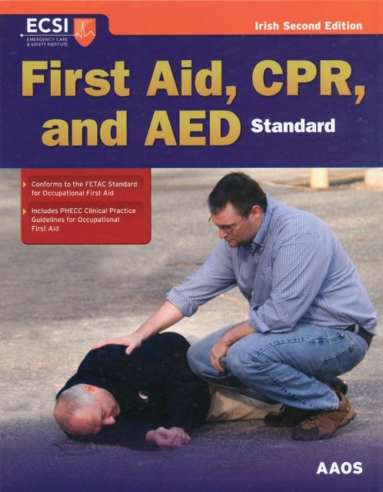 Standard First Aid CPR And AED Irish Edition