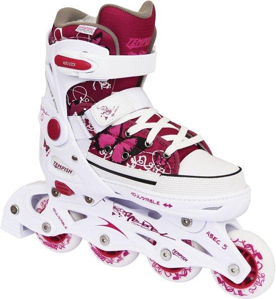 e5f59394151 bol.com | Tempish Rebel Pp Inline Skates Meisjes Rood/wit Maat 29/32
