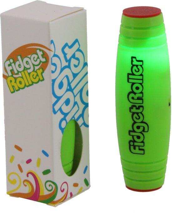 Afbeelding van het spel Groene fidget roller met LED.