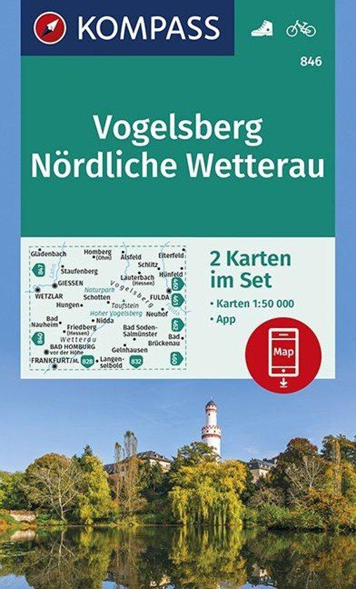 Vogelsberg, Nördliche Wetterau 1:50 000