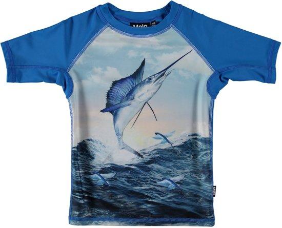 b6ae892c4fa78c Molo - UV-zwemshirt kinderen korte mouwen - Neptune - Catch - blauw