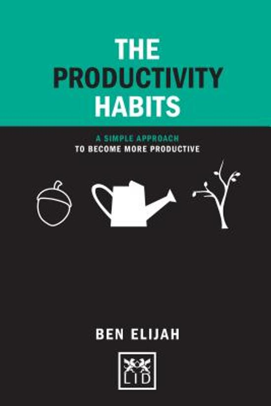 The Productivity Habits