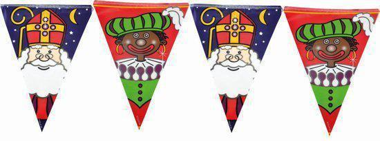 Sint en  Piet Vlaggenlijn