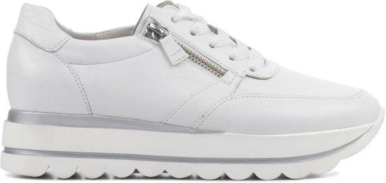 Gabor Dames Sneakers 24.410 Wit Maat 40