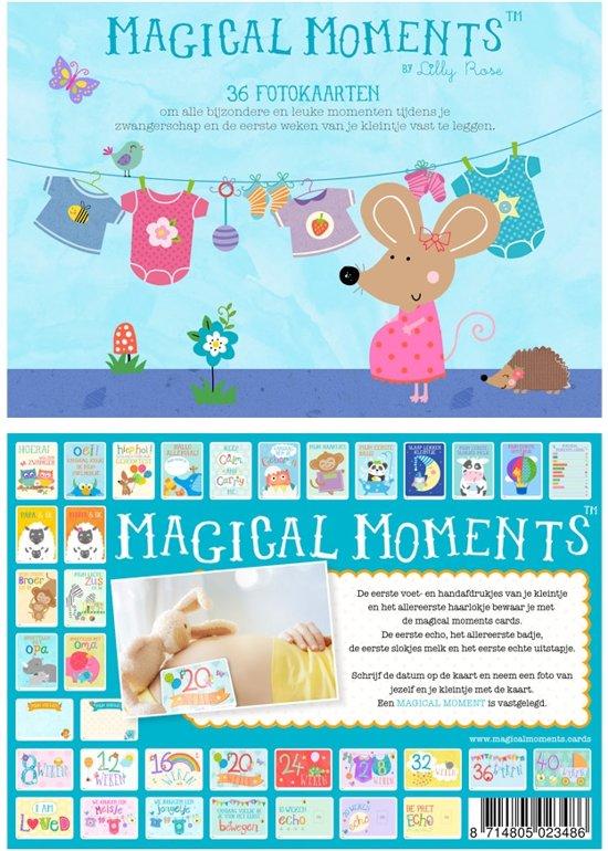 Magical Moments Fotokaarten Box Zwangerschap