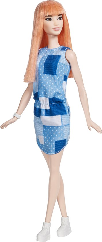 Barbie Fashionistas Doll 60 Patchwork Denim - ORIGINAL