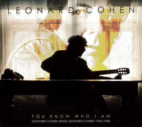 CD cover van You Know Who I Am van Leonard Cohen