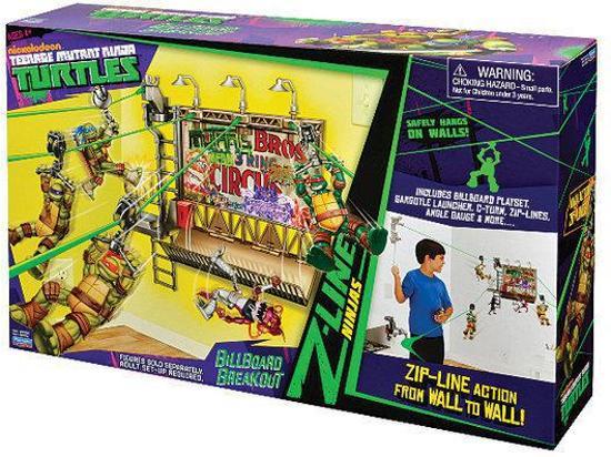 Teenage Mutant Hero Turtles Z-Line Bilboard Breakout- Speelset