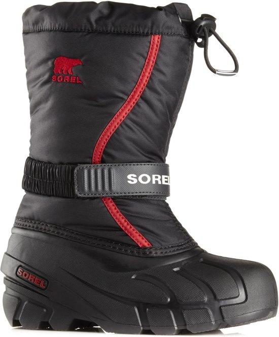 Sorel Snowboots - Maat 33 - Unisex - zwart/rood