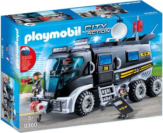 PLAYMOBIL SIE-truck met licht en geluid - 9360