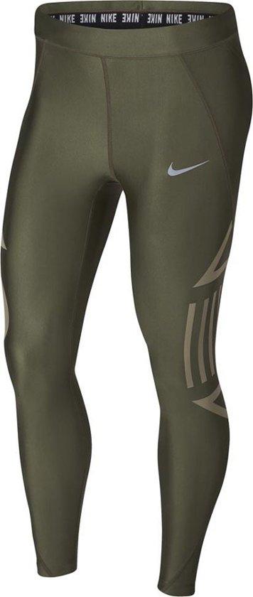 748099801b0 Nike Wmns Speed 7/8 Tight Dames Sportbroek - Maat L - Vrouwen - groen