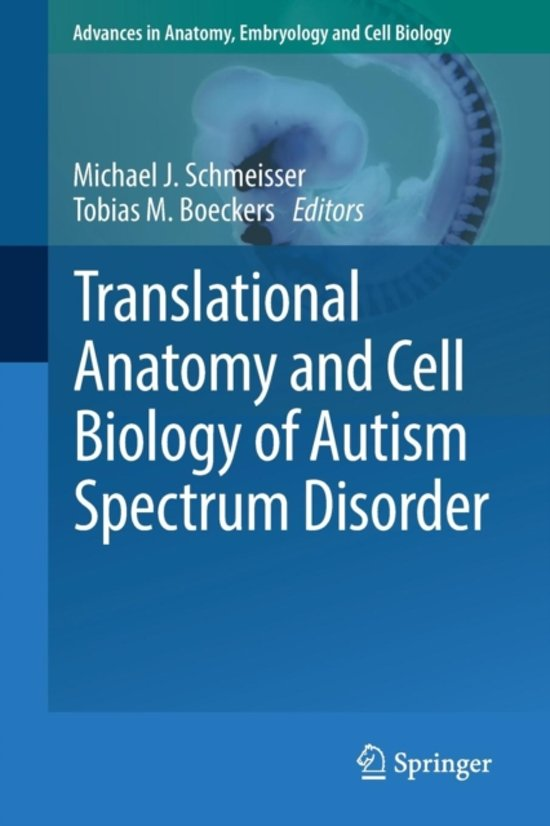 bol.com | Translational Anatomy and Cell Biology of Autism Spectrum ...