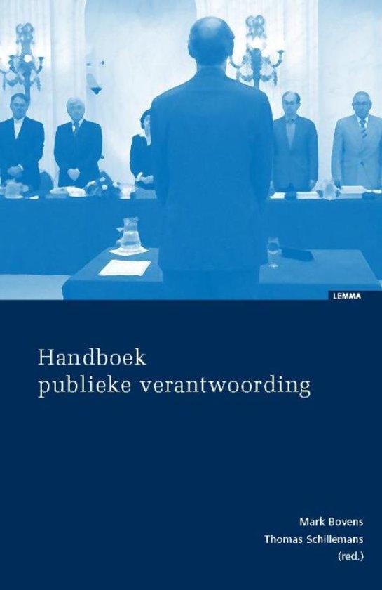 Handboek publieke verantwoording