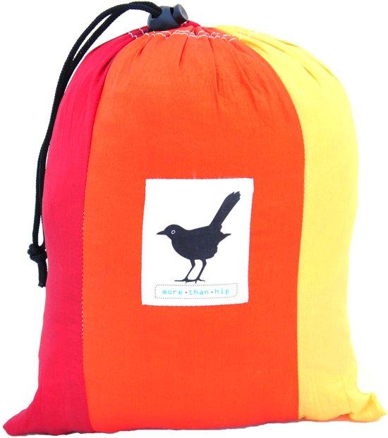 MoreThanHip Hangmat - Rood/Oranje/Geel - Parachutestof