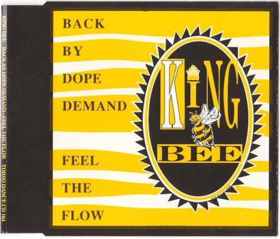 King Bee - Back By Dope Demand 4TRACK CD Maxi