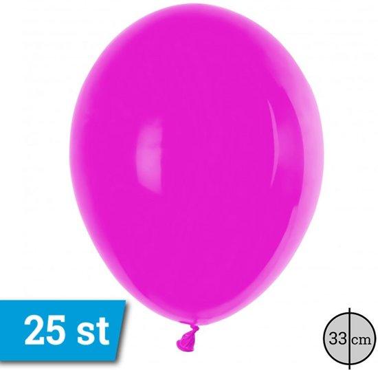 Latex ballon PT110-Fucsia aantal 25 stuks