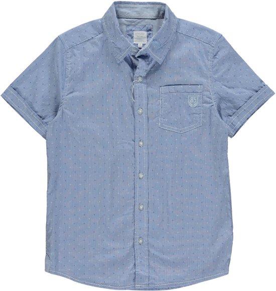 36a916809dff21 bol.com   Losan Chic Collection Jongens Blouse Overhemd Blauw Ruitje ...