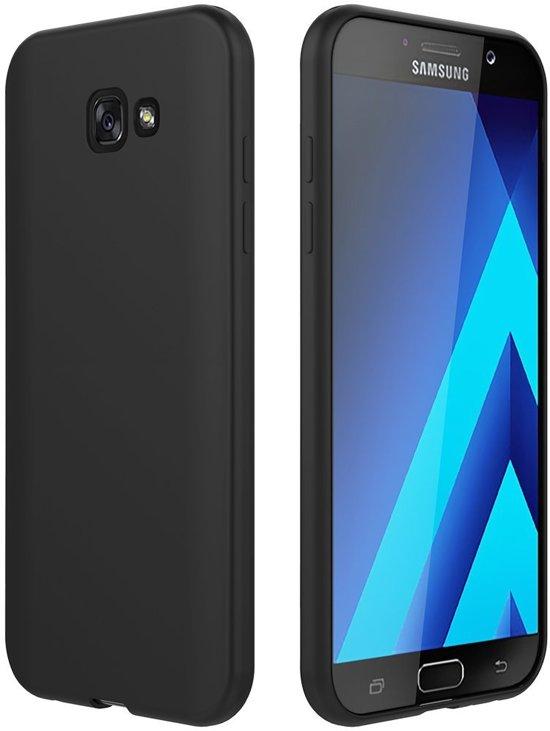 Boîtier Flip Noir Tpu Pour Samsung Galaxy A3 (2017) VkMjLss0OM