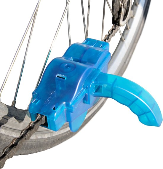 MMOBIEL  Fietsketting Reiniger Schoonmaak Schrobber met Roterende Borstels - Ketting en Versnelling Cleaner Fiets Onderhoud Gereedschap Set Accessoires voor Race Fietsen & Mountainbikes