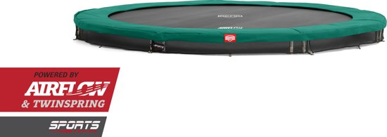 BERG InGround Champion Green 380 (12,5ft) - Trampoline