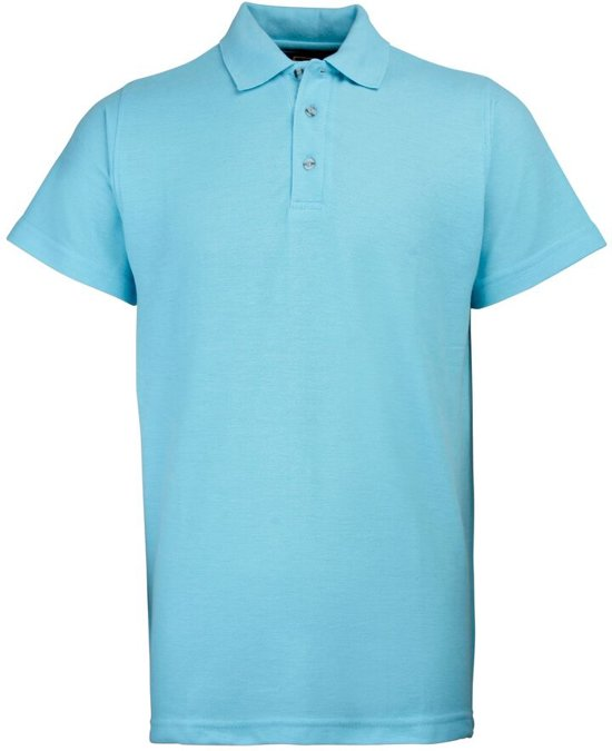 RTY Workwear Poly/cotton pique polo, Kleur Sky Blue, Maat 10XL