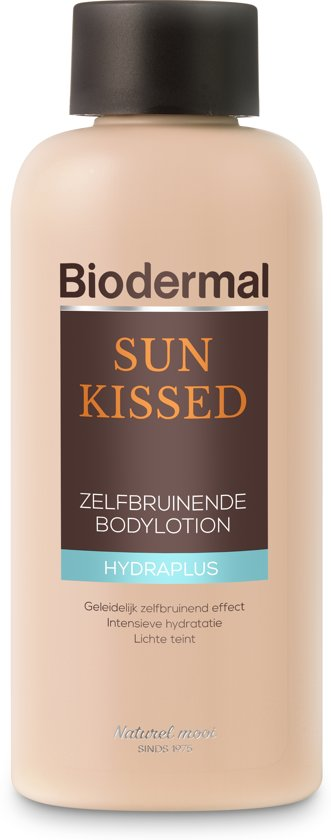 Biodermal Sun Kissed body - Voor een egale zomerse gloed - 200 ml