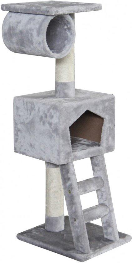Ebi Classic Cat Tree Abigail Krabpaal - Grijs - 35 x 35 x 109 cm