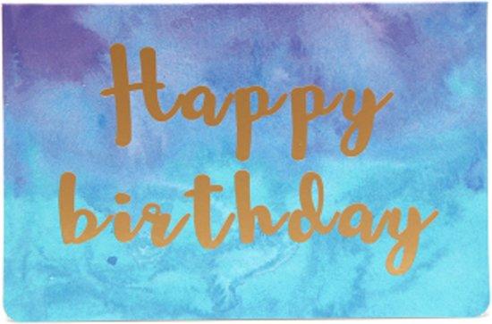 3x happy birthday kaarten mooie verjaardagskaart
