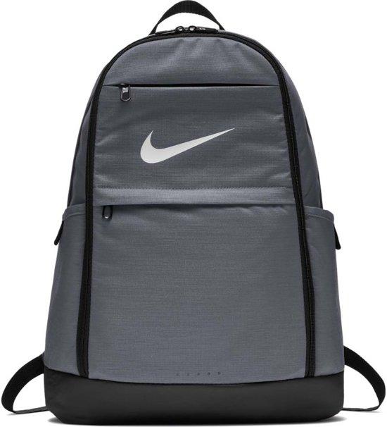 Nike Brasilia Xl Backpack Rugzak Unisex - Grijs