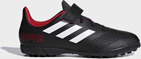 adidas Predator Tango 18.4 Tf J H&L Voetbalschoenen Kinderen - Core Black - Maat 36 2/3