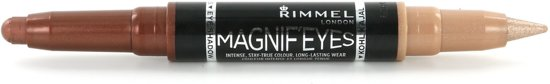 Rimmel London MagnifEyes Xxtreme Double Ended - Bruin - Oogschaduw en Eyeliner