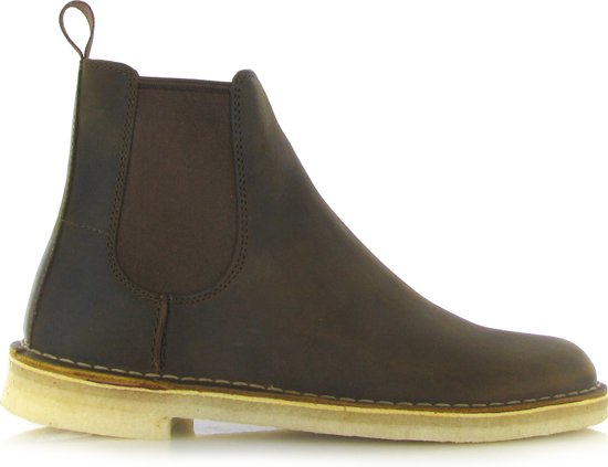for whole family authorized site good quality Clarks Heren Chelsea Boots 26138116 Desert Peak - Bruin - Maat 42