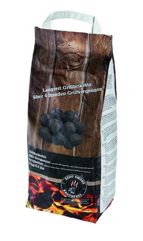 Rosle Zero Smoke Grill Briketten - 3 kg