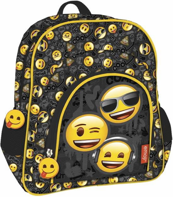 9ee51fed1c7 bol.com | Emoji Cool Squad - Rugzak - 30 cm - Multi