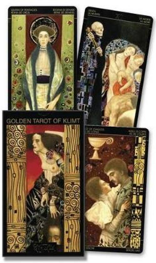 Afbeelding van het spel Golden Tarot of Klimt Cards