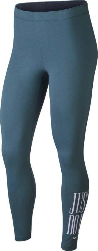 Nike W NSW Legging Club JDI Sportlegging Dames - Thunderstorm/Oxygen Purple