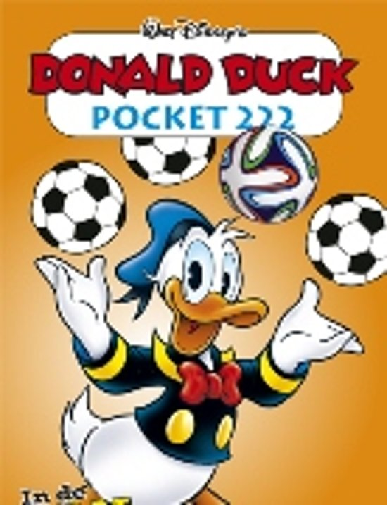 bol donald duck pocket 222 disney 9789058555540
