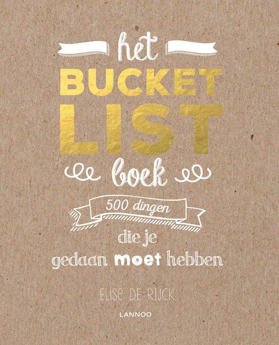 Boek cover Het Bucketlist-boek van Elise de Rijck (Paperback)