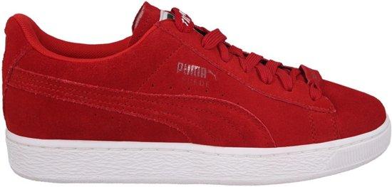 Chaussures Rouges En Daim À 40,5 Pour Pumas Femmes