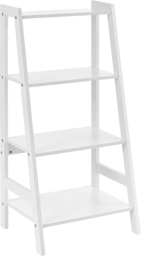 Super bol.com   Badkamerrek met 4 planken - wit EH64